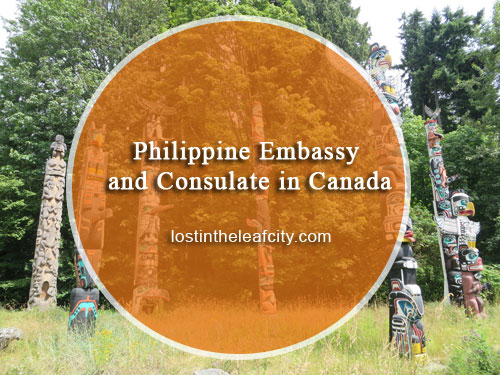 Philippine Embassy and Consulate in Canada