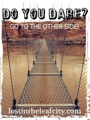Suspension Bridge in Drumheller