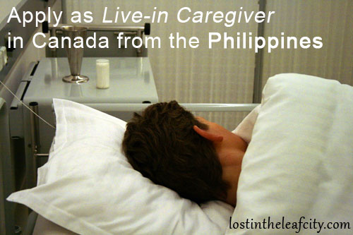 Apply as Caregiver in Canada from the Philippines