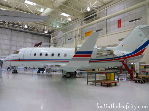 Airplane at Air Smith Aero Centre