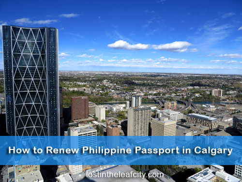 how to get a passport in calgary