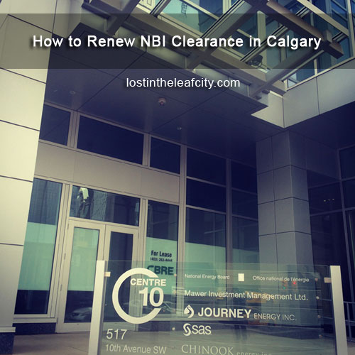 Renew NBI Clearance in Calgary