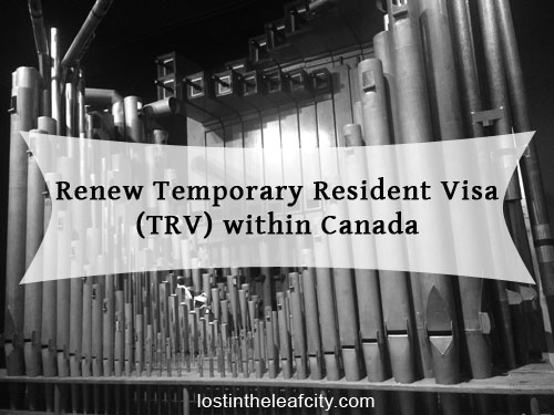 Renew Temporary Resident Visa