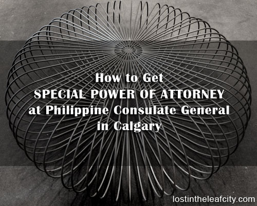 How To Get Special Power Of Attorney At Philippine Consulate