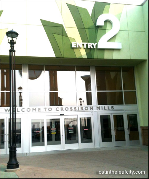 CrossIron Mills Entry 2