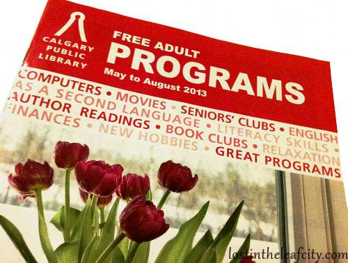 Calgary Public Library Programs