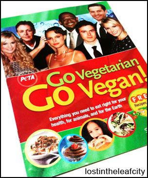 Peta: Vegetarian and Vegan Starter Kit