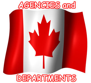 canadian government agencies and departments