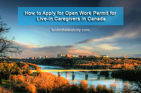 Apply Open Work Permit in Canada