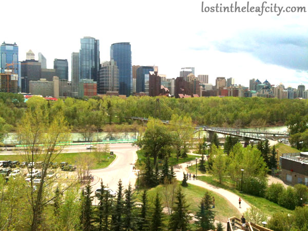 Prince Island's Park in Downtown Calgary
