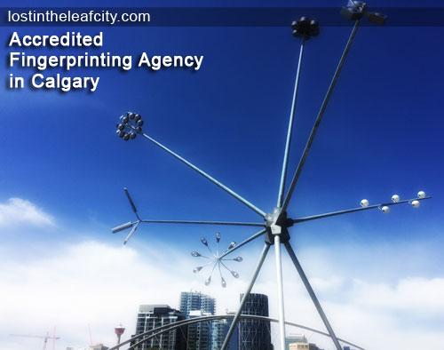 Accredited Fingerprinting Agency in Calgary