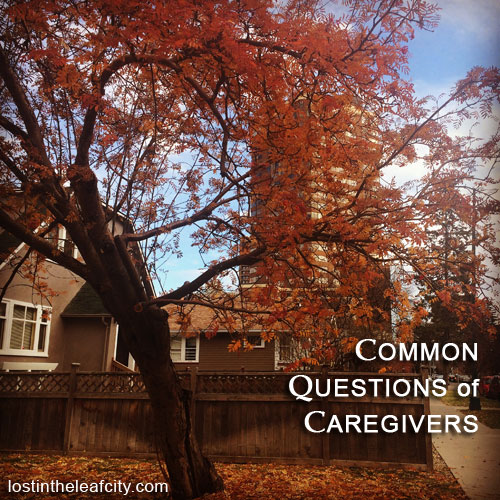 Common Questions of Caregivers
