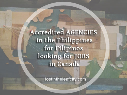 Accredited Agencies in the Philippines