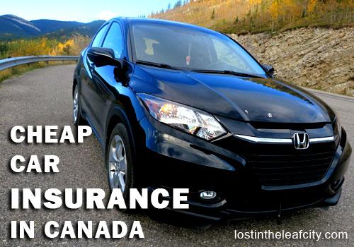 Cheap Car Insurance in Canada