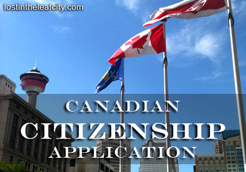 Canadian Citizenship Application