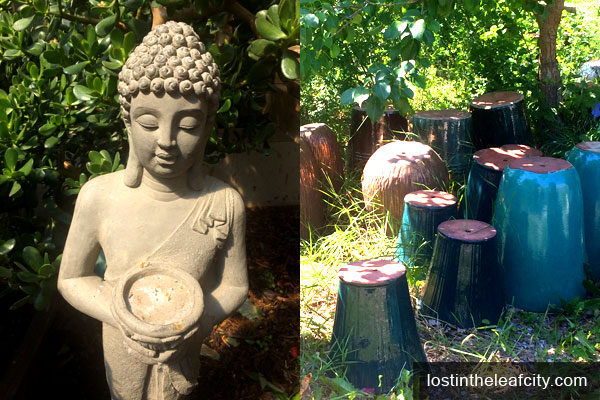 Buddha and Vase for Sale