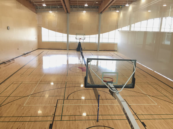 Basketball Court at Shane Homes YMCA