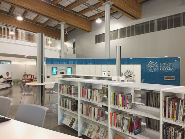 Library at Rocky Ridge