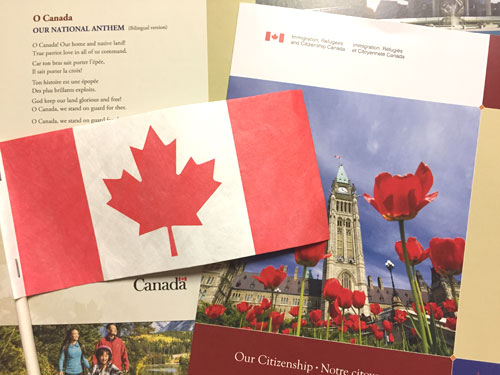 Miss the Canadian Citizenship Ceremony
