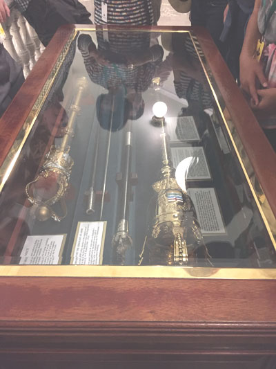 The First Mace of Alberta in the Legislature