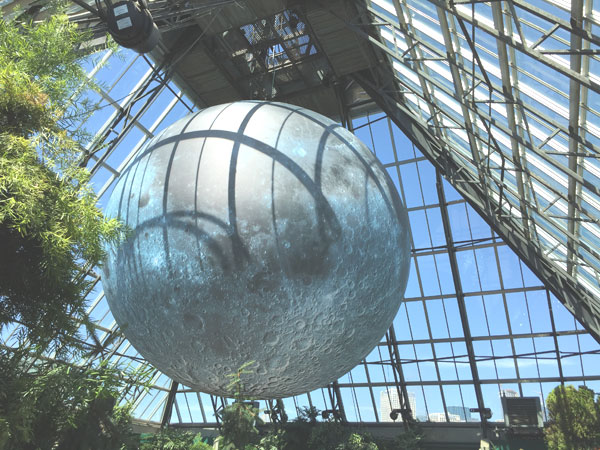 Museum o the Moon at Muttart Conservatory, Edmonton