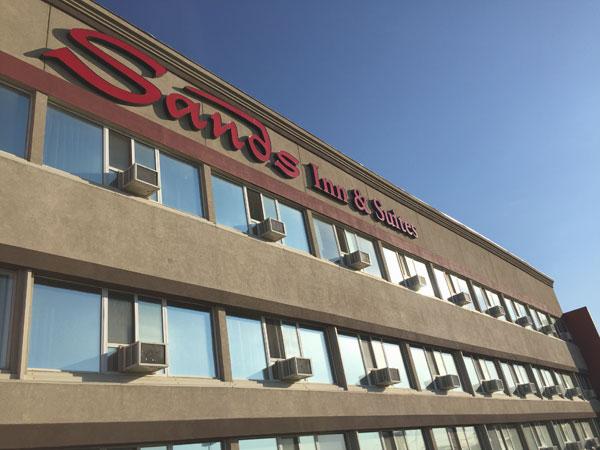 Sands Inn and Suites in Edmonton, Alberta Canada