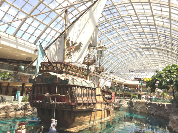 Ship at West Edmonton Mall