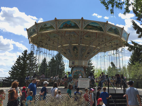 Cultural Access Pass: Ride the Dangler Swings at Heritage Park