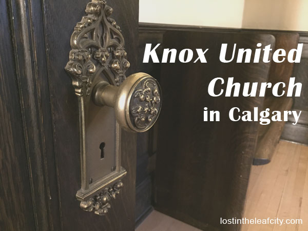 Knox United Church in Calgary, Alberta, Canada