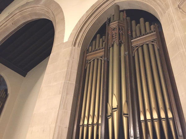 Knox United Church Organ Pipes