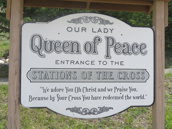 Our Lady Queen of Peace in Radium Hot Springs, BC.